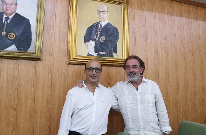 Vicente Oya se incorpora a la galería de retratos de decanos del Colegio de Abogados de Jaén